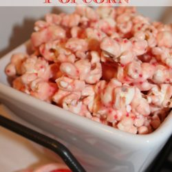 Candy Cane Kiss Popcorn