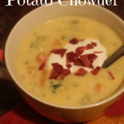 Broccoli Cheese Potato Chowder