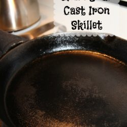 How To Clean Your Cast Iron Skillet or Cookware
