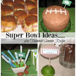 Super Bowl Ideas Plus Hammie Sammie Recipe