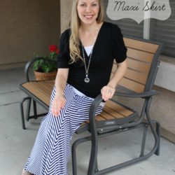 What I Wore~Maxi Skirt