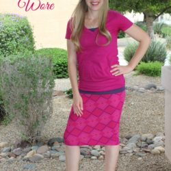 What I Wore ~ Bright Pink