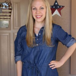 What I Wore ~ Jean Dress