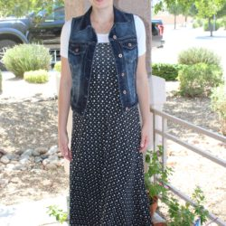 What I Wore ~ Maxi Skirt Dress