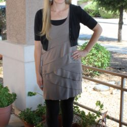 What I Wore ~ Ruffle Tunic With Leggings