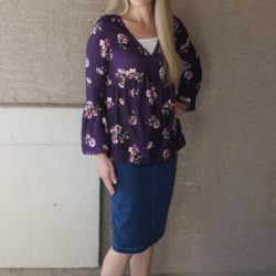 What I Wore ~ Bell Sleeves