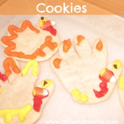 Turkey Hand Cookies